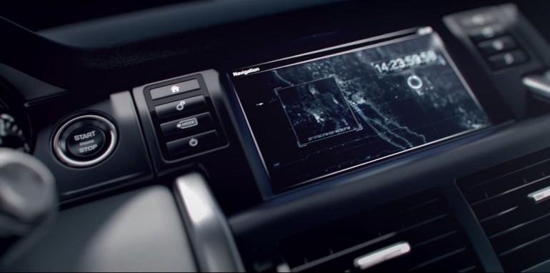 Первое изображение из салона Land Rover Discovery Sport