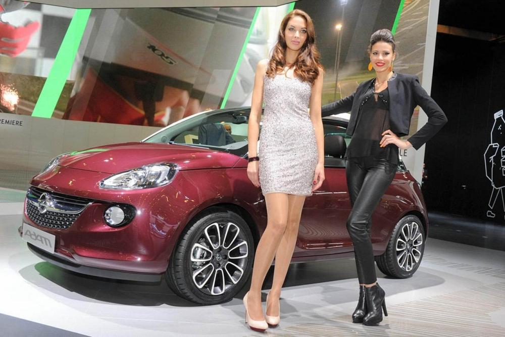 Opel Adam ждем на следующий год