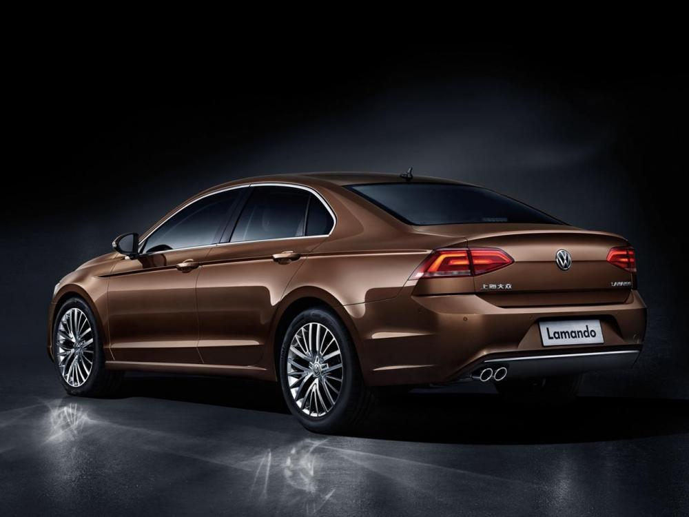 Volkswagen Lamando показали в Китае