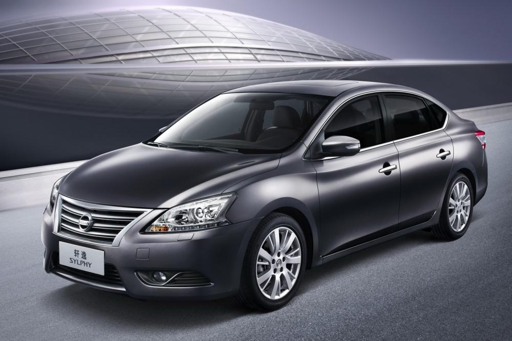 Nissan назвал комплектации седана Sentra