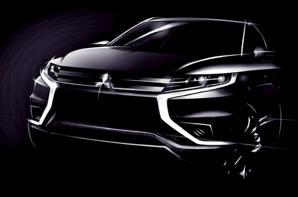 Mitsubishi Outlander PHEV Concept-S привезут в Париж