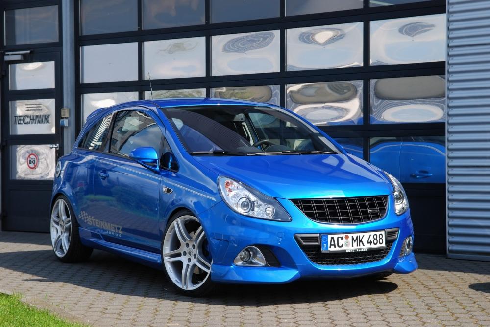 Opel Corsa OPC засветился без камуфляжа