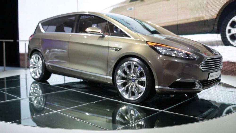 Знакомство с новым Ford S-Max
