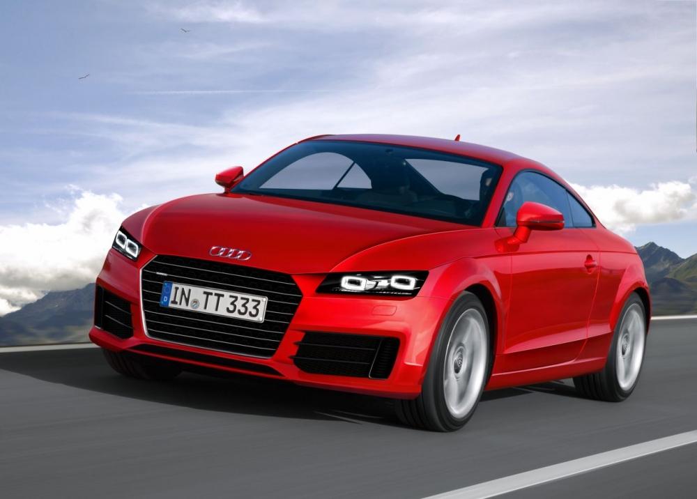Audi TT потерял крышу