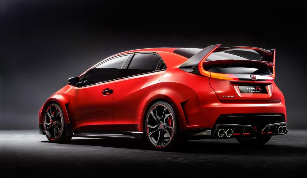 Honda представила Civic Type R