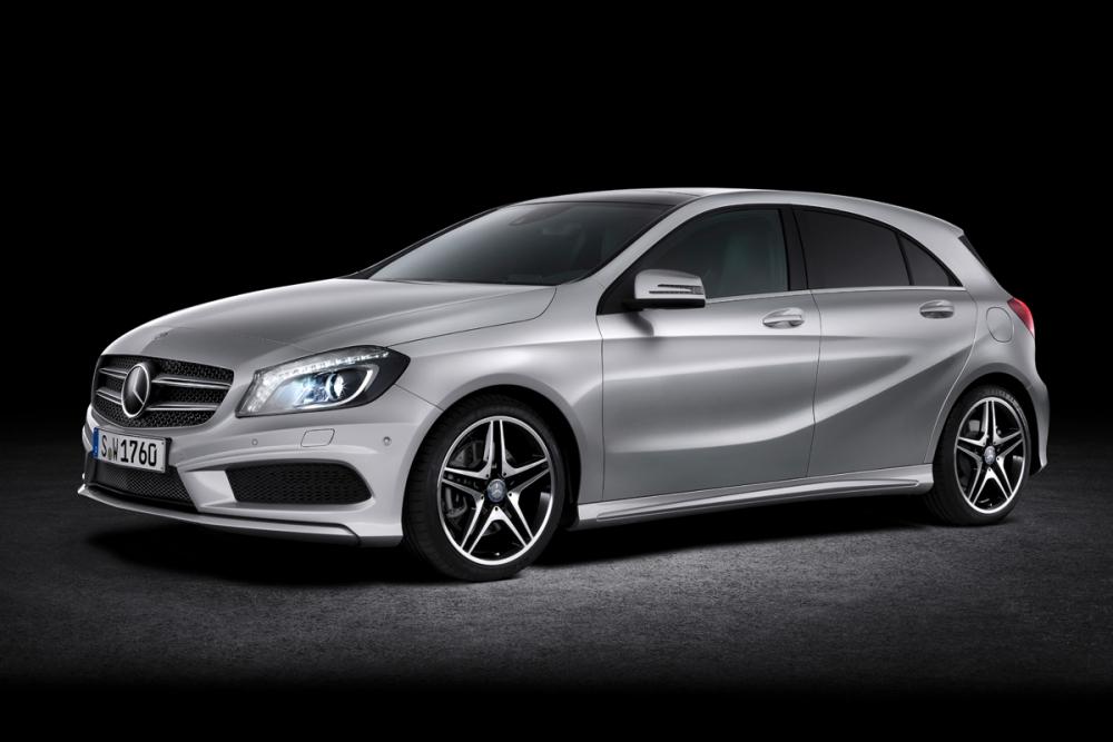 В России Mercedes A-класс доступен с дизелем