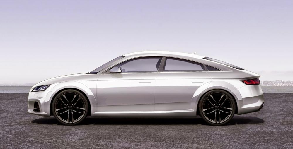 Audi TT Sportback везут в Париж