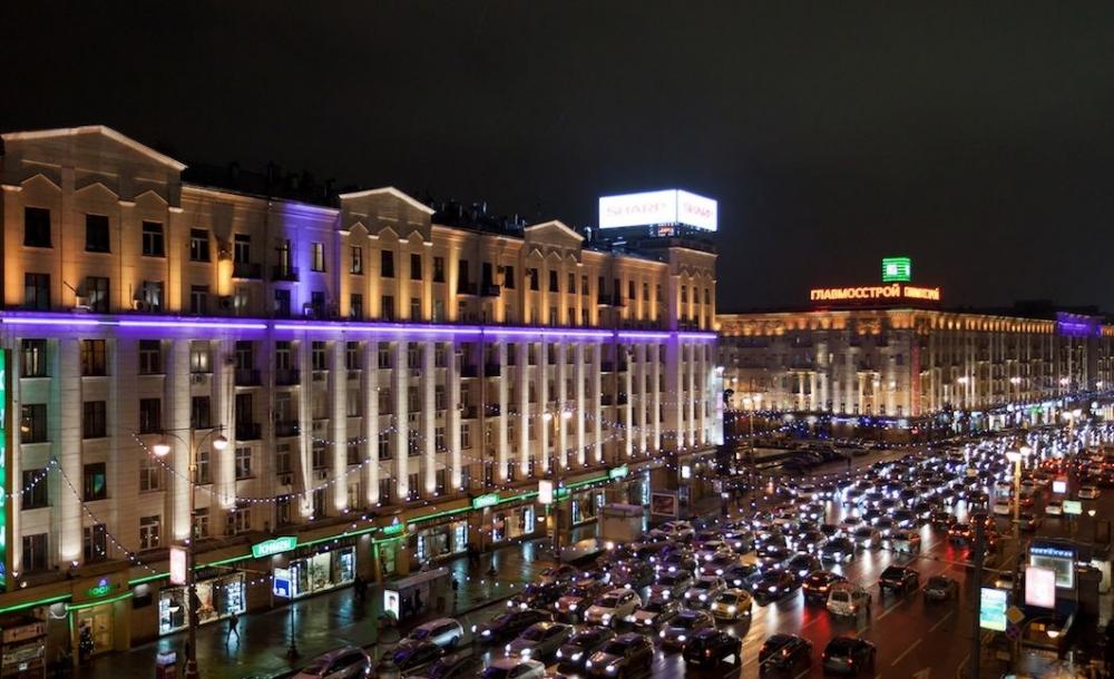 Количество пробок в Москве сократилось на 24%