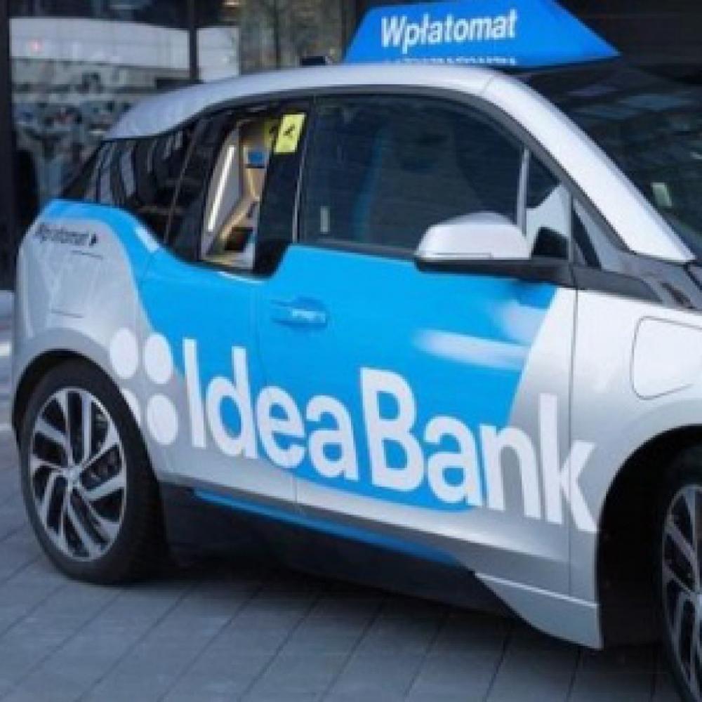 В Польше появился автомобиль-банкомат