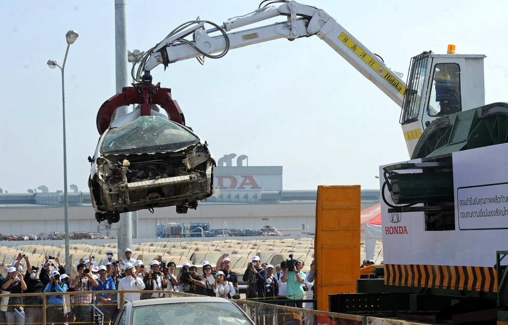 В 2015 году в России по программе утилизации продано 75 тыс. авто