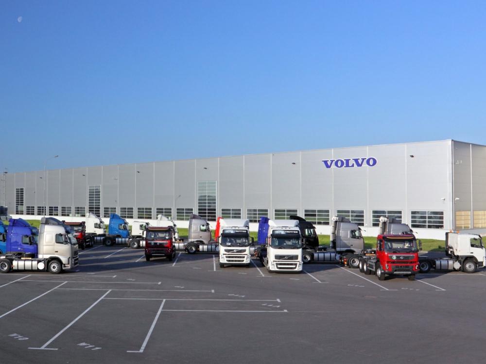 В связи с большим спросом на заводе Volvo работают в три смены