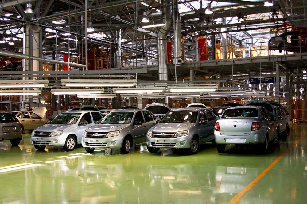 Автоваз падает быстрее рынка