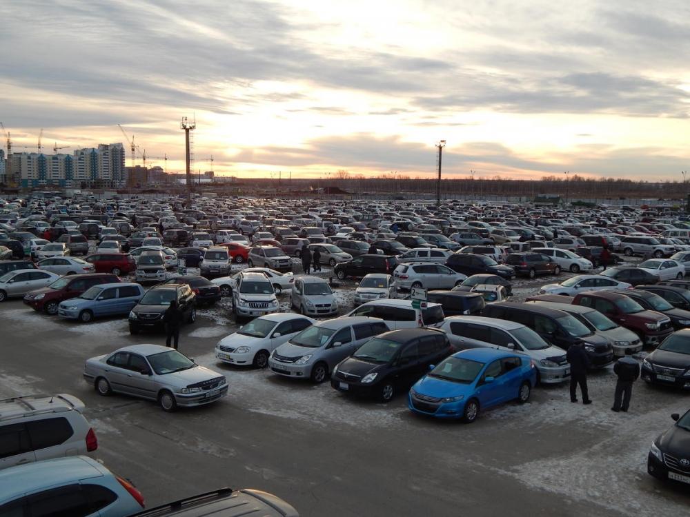 25% новых машин продается в Москве