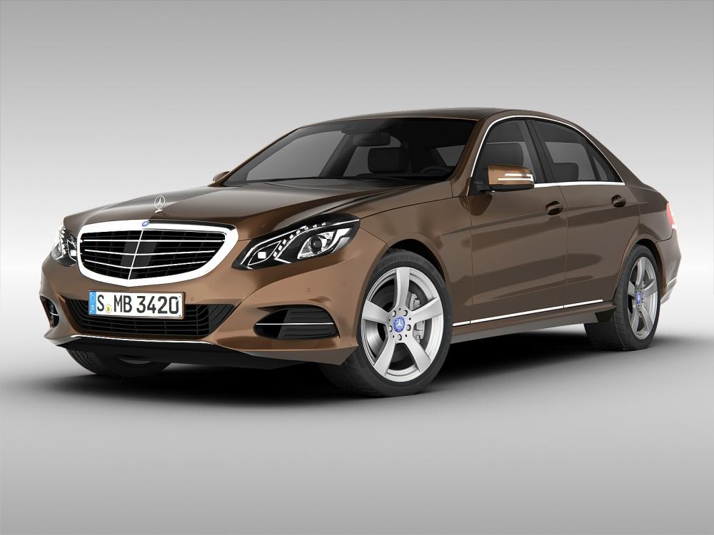 Mercedes-Benz E-Class стал самым популярным автомобилем столицы в премиум-сегменте