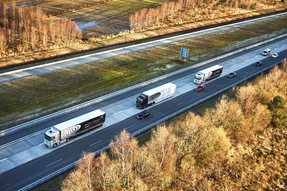 Беспилотные грузовики - скоро в России