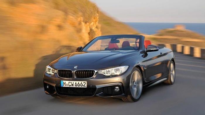BMW 4 серии Кабриолет. Создан, чтобы дарить удовольствие от вождения