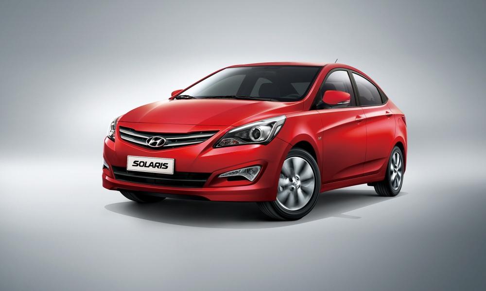 Hyundai Solaris самый угоняемый автомобиль в РФ