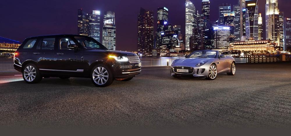 Онлайн-аукцион Jaguar Land Rover