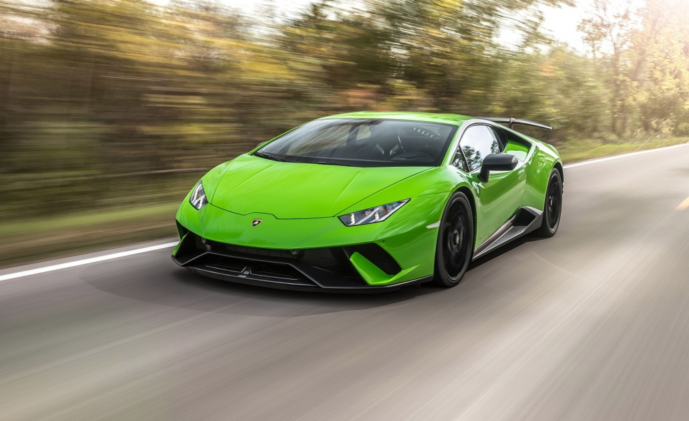 Lamborghini растет