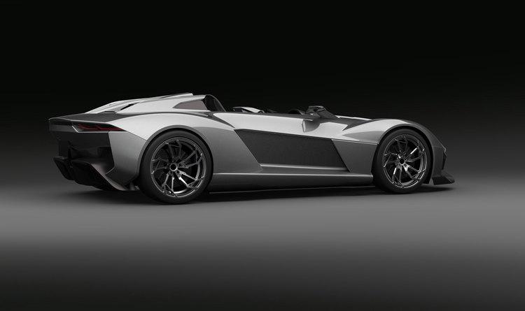 Первая модель от Rezvani Motors