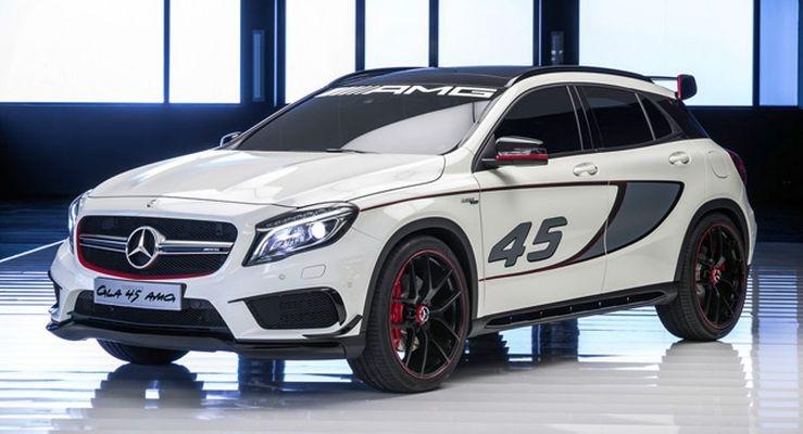 Российский дебют Mercedes GLA 45AMG