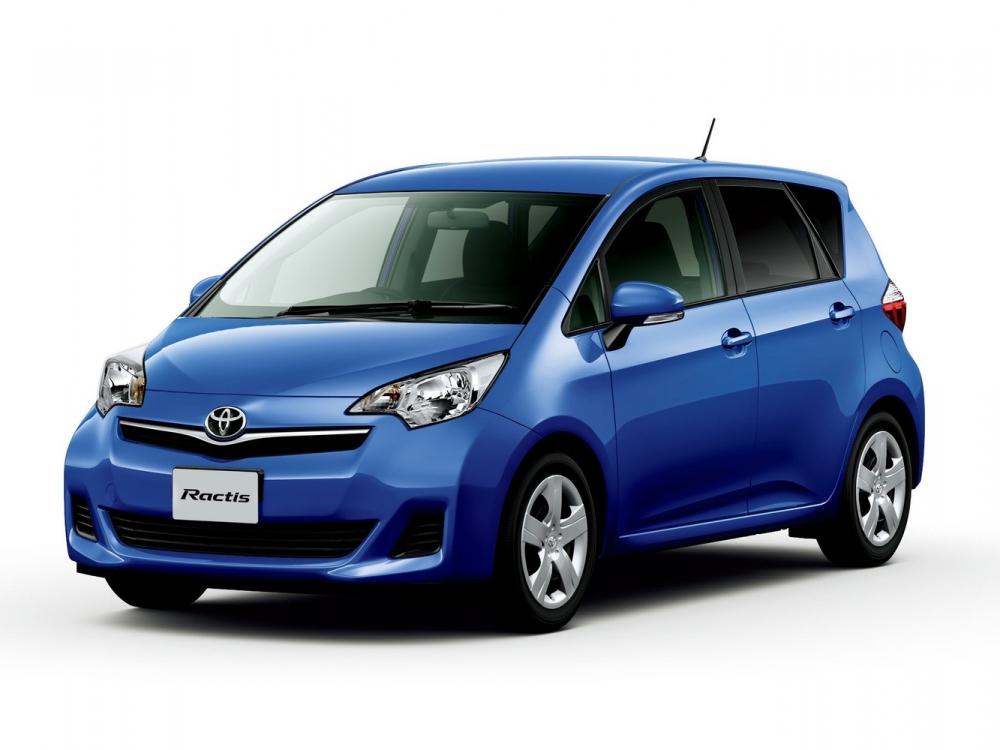 В Японии представили рестайлинговый Toyota Ractis