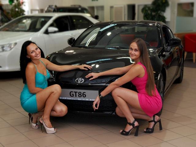 Российская премьера Toyota GT86 совсем скоро