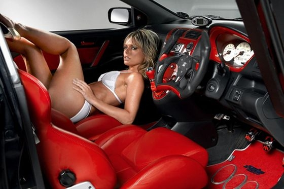 Honda Civic Type R попался шпионам