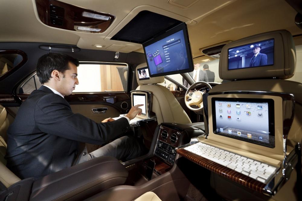 Юбилейный Bentley Mulsanne 95