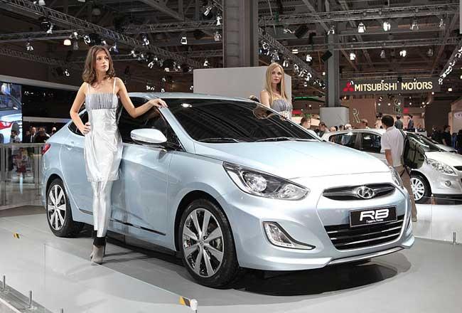 Первые фото обновленного Hyundai Solaris