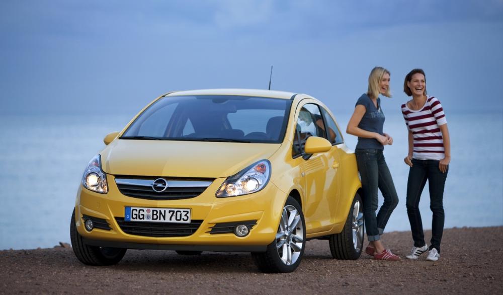 Официальные фото Opel Corsa