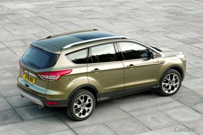 Кроссовер Ford Kuga получил новые модификации