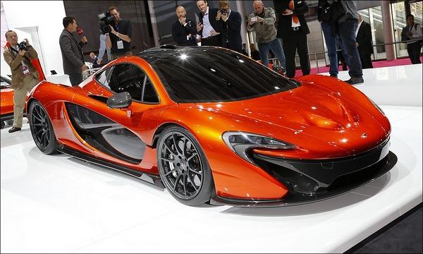McLaren готовит гибридный суперкар
