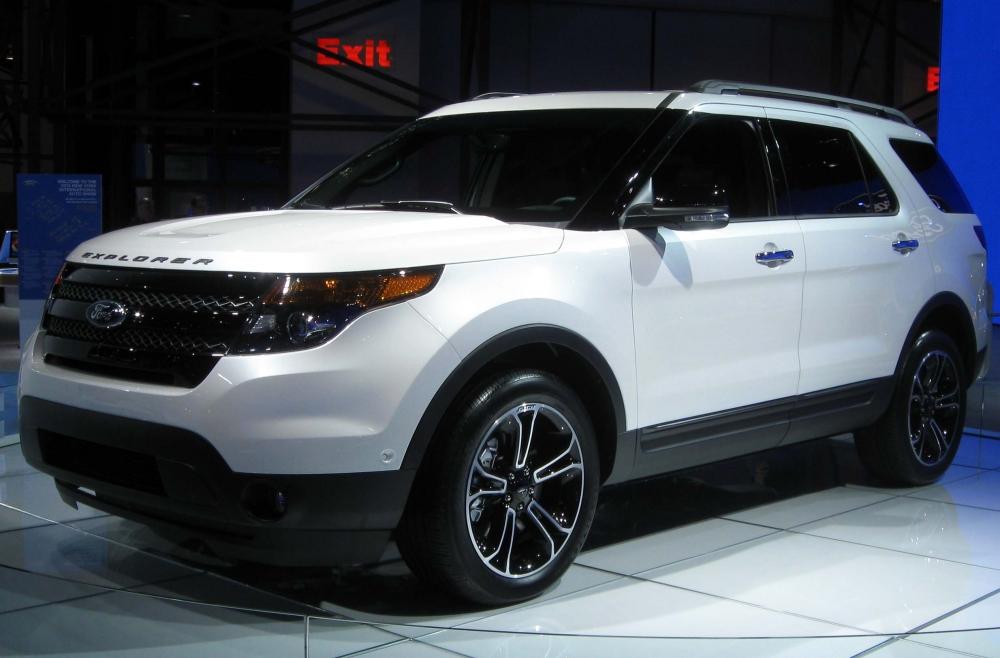 Ford представил обновленный Explorer очередного модельного года
