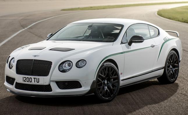 Bentley Continental GT3-R выходит на дороги общего пользования