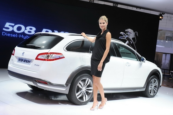 В Москве презентовали Peugeot 508