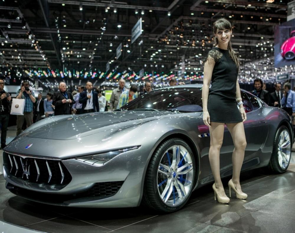 Maserati Alfieri станет точной копией концепта