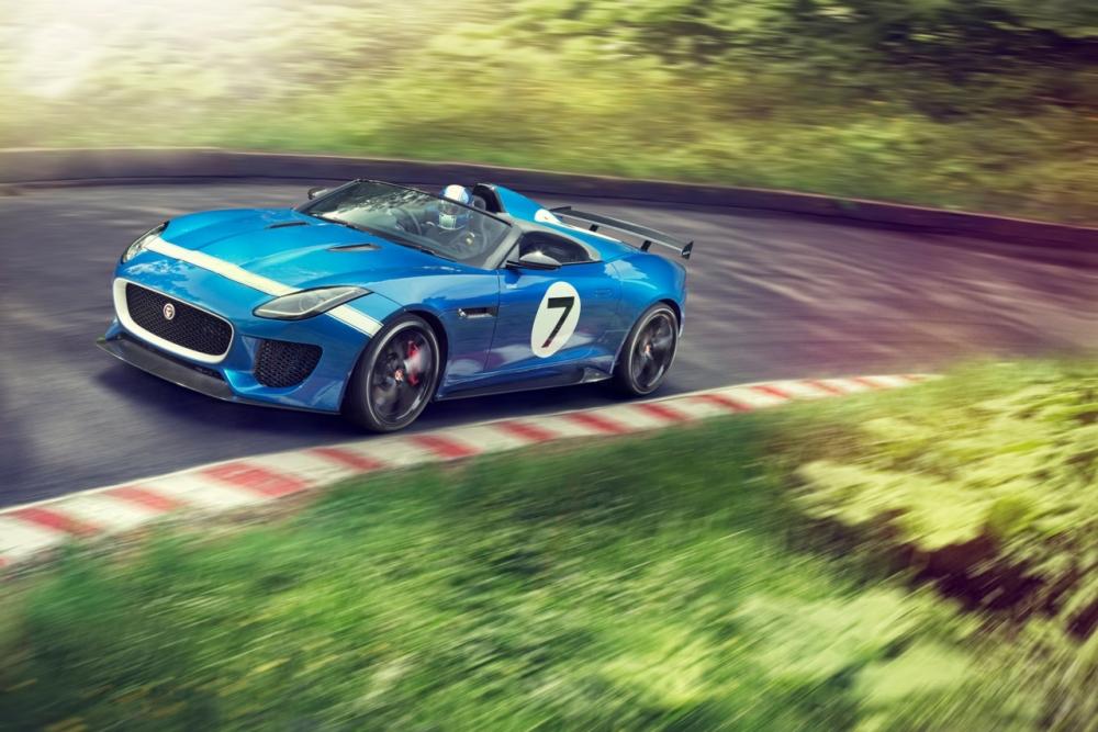 Подробности об Jaguar F-Type Project 7