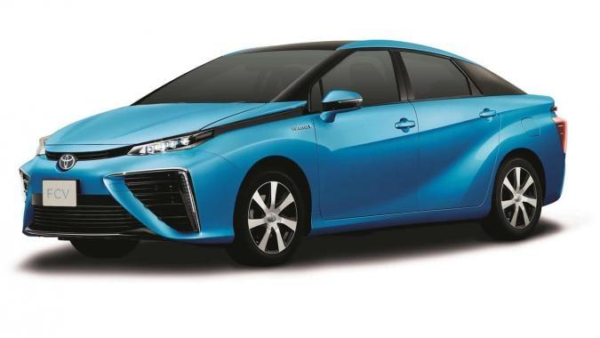 Toyota рассекретила внешность серийной Toyota FCV