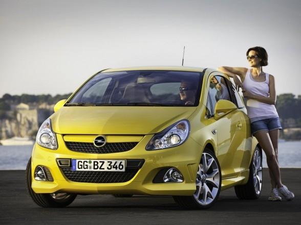 Opel Corsa OPC появится в будущем году