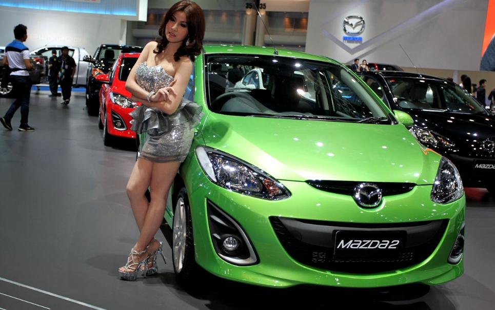 Mazda 2 пошла в серию