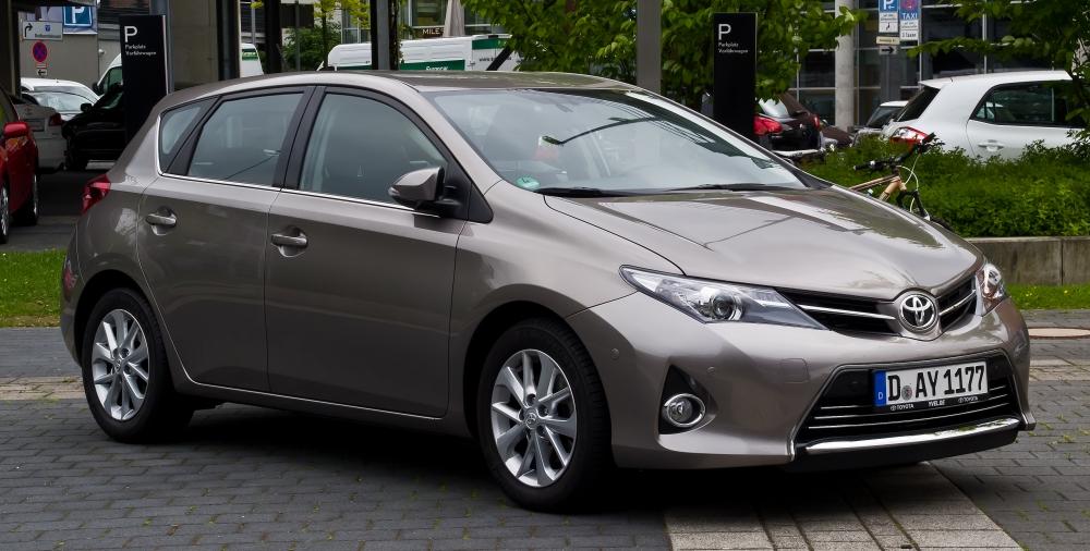 Из Toyota Auris сделали внедорожник