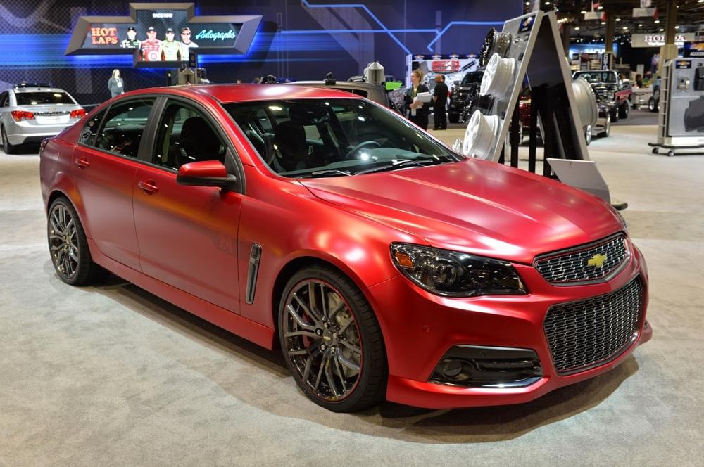 Представлен седан Chevrolet SS 2015-го модельного года