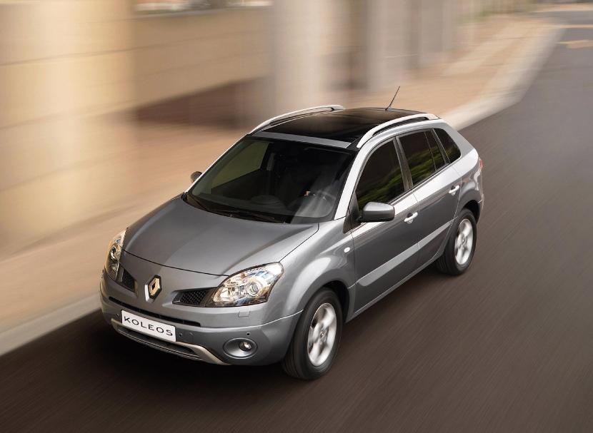 Новый Renault Koleos появится в 2016-м году