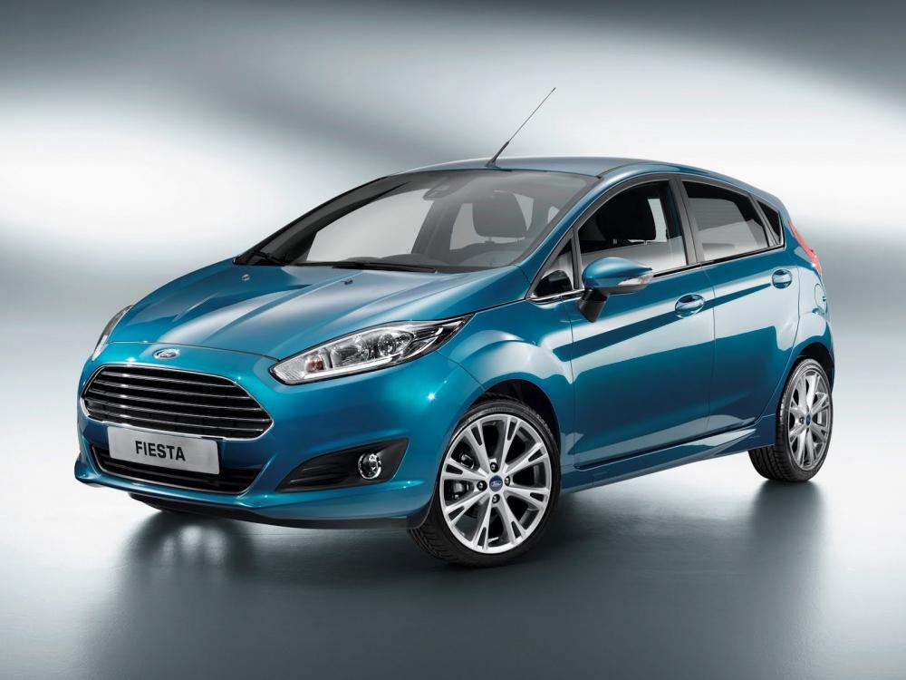 В Великобритании популярнее Ford Fiesta нет