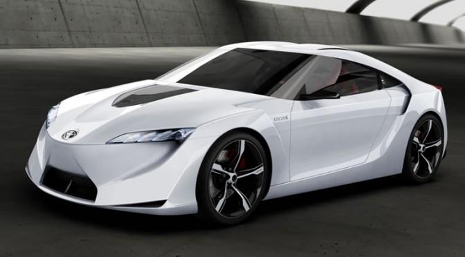 Toyota Mirai появится в 2015-м году