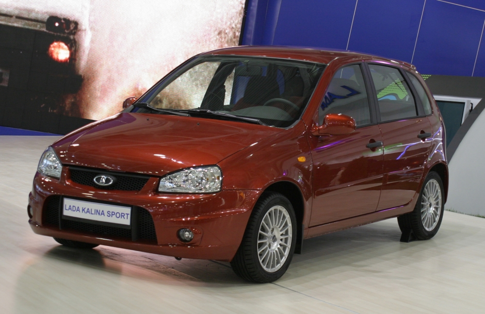 Lada Kalina Sport отправилась на рынок