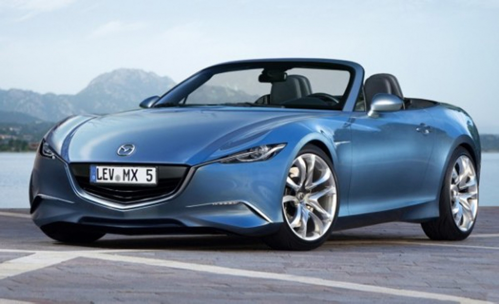 Mazda MX-5 обзавелась первым рекламным изображением