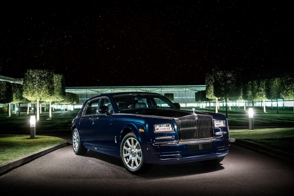 Скоро ждем гибридный Rolls-Royce Phantom