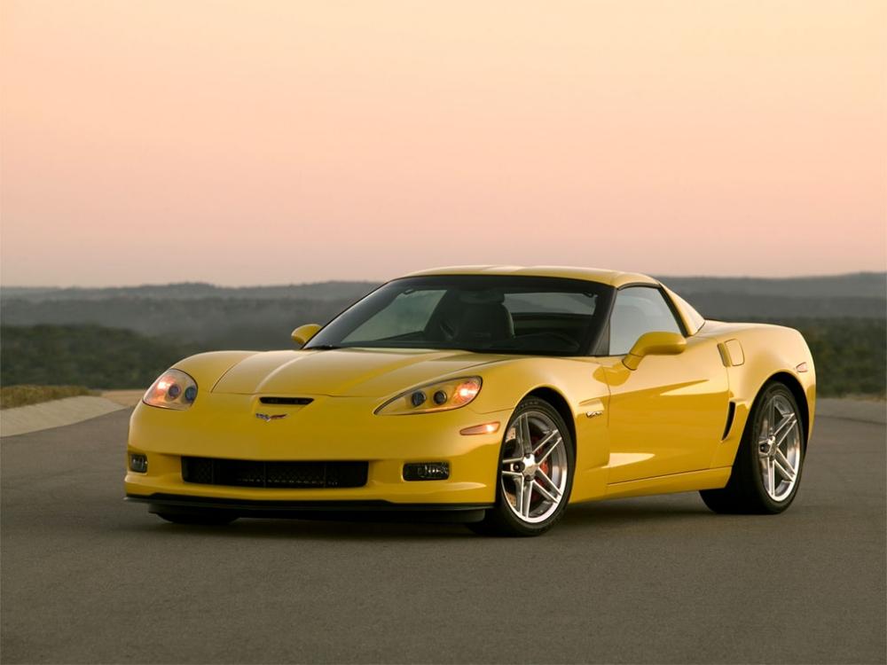 Среднемоторная схема для Chevrolet Corvette